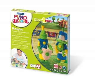 Fimo kids sada Form & Play Rytieri