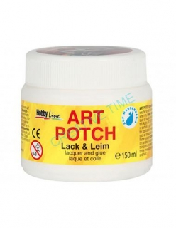 Lepidlo a lak na decoupage ART POTCH 150 ml