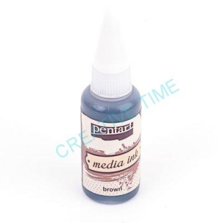 Media ink atrament 20 ml brown