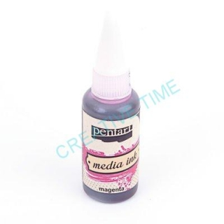 Media ink atrament 20 ml magenta