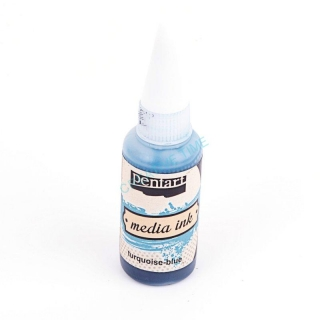 Media ink atrament 20 ml tyrkys blue
