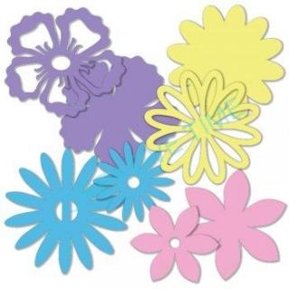 eefc5be60 Papierové výrezy kvety mix farieb empty