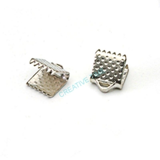 Koncovka platina 6x8 mm - 10 ks