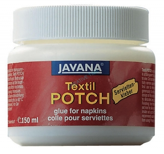 Lepidlo decoupage na textil JAVANA Textil POTCH 150 ml