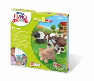 Fimo kids sada Form & Play Farma