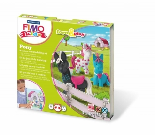 Fimo kids sada Form & Play Poníci