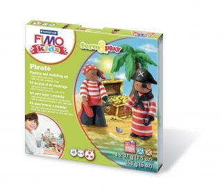 Fimo kids sada Form & Play Piráti