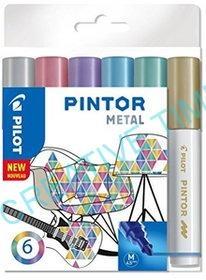 Fixy PINTOR Metall sada 6 ks empty 55296c8fc05
