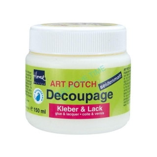 Lepidlo a lak na decoupage matný ART POTCH 150 ml