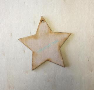 c0cad0738 Drevený výrez hviezda 15 cm empty