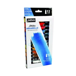 Pastel sada aquarelle watercolours 12x12 ml