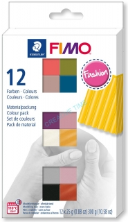 Fimo Soft sada 12 farieb - FASHION