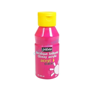 Acrylcolor 150 ml, 162 fluo - Rose